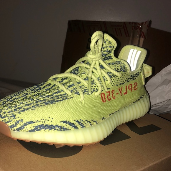 700583c172a Adidas Yeezy Boost 350 V2- frozen yellow